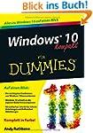 Windows 10 kompakt f�r Dummies