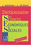 echange, troc Janine Brémond, Alain Gélédan - Dictionnaire des sciences économiques & sociales