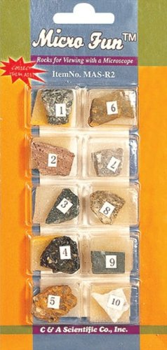 Micro-Fun Specimens - Rocks Set 2