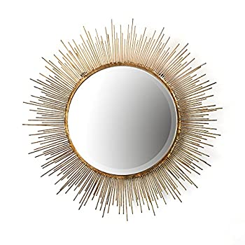 Twos Company Tozai Gold Starburst Wall Mirror