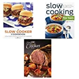 Slow Cooker Classic Recipes 3 Books Collection Set, (The Classic 1000 Slow Cooker Recipes, Slow Cooking for Two:A Slow Cooker Cookbook and The Slow Cooker Cookbook: 75 Easy, Healthy, and Delicious Recipes for Slow Cooked Meals)