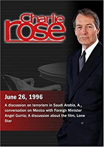 Charlie Rose with Judith Miller, Richard Murphy, Adel Al-Jubeir & Lawrence Eagleburger; Angel Gurria; John Sayles, Chris Cooper & Joe Morton (June 26, 1996)