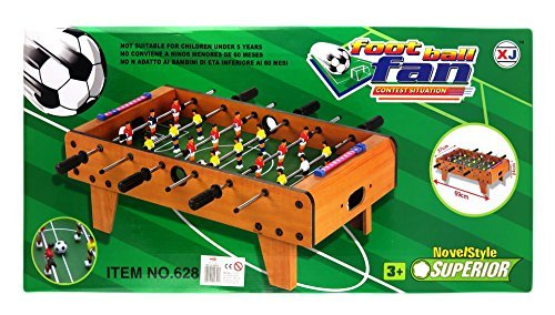 Football Table – Wooden – 36 cm x 37 cm x 24 cm by Novel Style Superior günstig