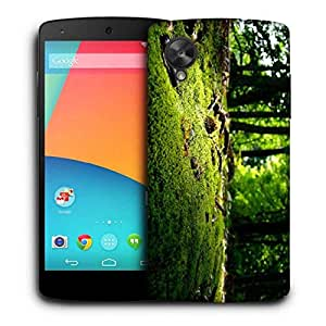 Snoogg Small Grass Printed Protective Phone Back Case Cover For LG Google Nexus 5