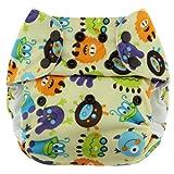 Blueberry Econappi Pocket Diaper, Monsters