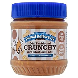 All Natural Peanut Butter & Co Old Fashioned Crunchy (340g)