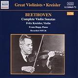 Complete Violin Sonatas (Kriesler, Rupp)
