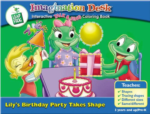 LeapFrog Imagination Desk Lily's Birthday Party Takes Shape