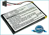 Battery for Navigon 70 Plus, 3.7V, 1200mAh, Li-ion