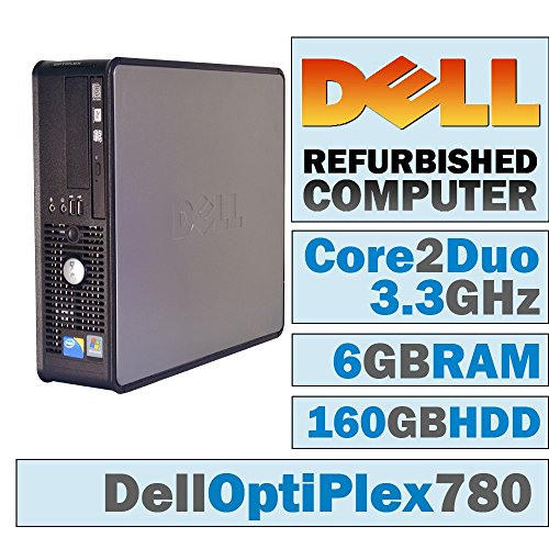 Click to buy Dell OptiPlex 780 SFF/Core 2 Duo E8600 @ 3.33 GHz/6GB DDR3/160GB HDD/DVD-RW/WINDOWS 7 PRO 64 BIT - From only $600