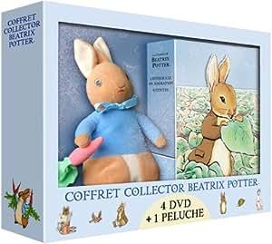 Béatrix Potter - Coffret 4 DVD [inclus 1 peluche Pierre Lapin]