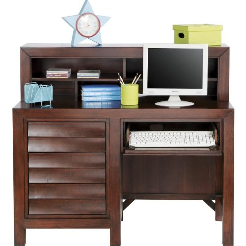 Newhart 2 Pc Computer Desk and Hutch