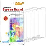 EnGive 6 Packs HD Crystal Clear Samsung Galaxy S5 Screen Protector