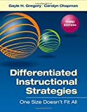 img - for Differentiated Instructional Strategies: One Size Doesn't Fit All book / textbook / text book