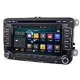 iBaste 7'' Zoll Navigation Autoradio mit Canbus Android System Bluetooth GPS DVD SD und USB,neu kostenloser Kartenmaterial Europa/ Navigation für VW Golf 5 6 Touran Tiguan Passat Jetta, etc./ 7'' Navigation mit Android System
