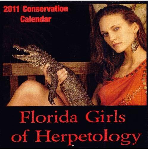 Florida Girls of Herpetology 2011 Conservation Calendar