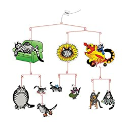 B. Kliban Funny Cat Hanging Mobile Kit