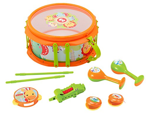 Fisher Price Music Musical Band Drumset Music Set (Fisher Drum Set compare prices)