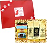 Rise and Shine Pet Gift Set for Every Dog Lover Who Also Loves Great Coffee! All Natural Gourmet Treats for Your Dog and Kona Hawaiian Coffee for You!