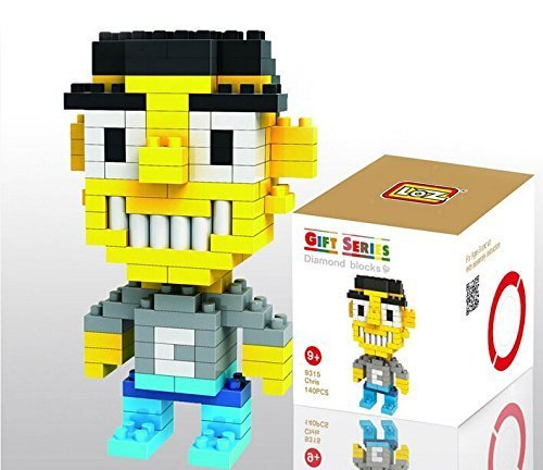 LOZ Diamond Mini Block Toys Cute Cartoon Toys Action Figure - CHRIS