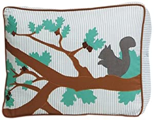 Unleashed Life Forest Park Appliqued Eco-Friendly Dog Bed, Small