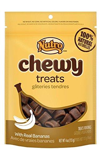 The Nutro Company Chewy Treats, Banana, 4-Ounce