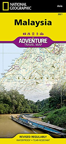 Malaysia (National Geographic Adventure Map)