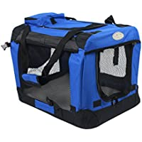 Easipet Fabric Pet Carrier, Large, Blue
