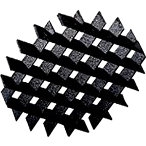 Progress Lighting P8613-31 Cube Cell 45 Degree Louver For Glare Control Fits Under P8684 Glass, Black