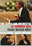 The Cleveland Orchestra at Carnegie Hall [DVD Video] (Sous-titres français) [Import]
