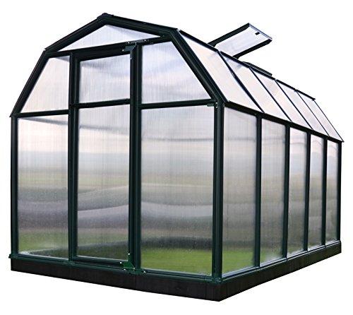 """Kunststoff Gewächshaus """"ECO35"""" (321 x 197 x 193) + Dachfenster"""