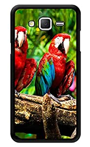 """Humor Gang Exotic Birds Parrot Printed Designer Mobile Back Cover For """"Samsung Galaxy j2"""" (2D, Glossy, Premium Quality, Protective Snap On Slim Hard Phone Case, Multi Color)"""