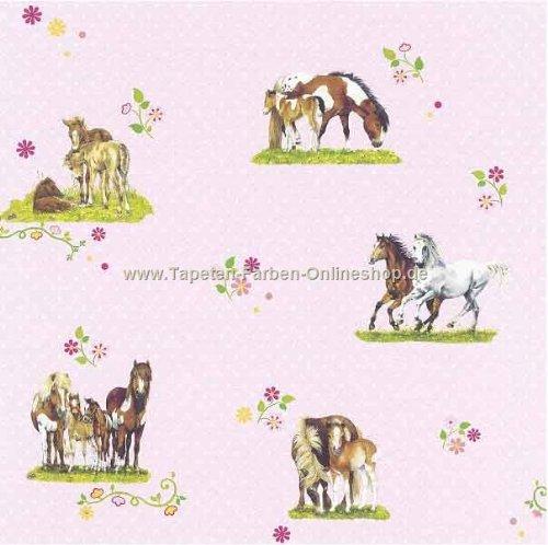 Fototapeten Jugendzimmer M?dchen : Kinderzimmer f?r M?dchen mit Pferdemotiven gestalten