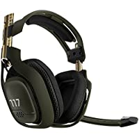 Astro HALO A50 Over-Ear Wireless Gaming Headphones with Req Pack DLC for Xbox One (Gold/Green)