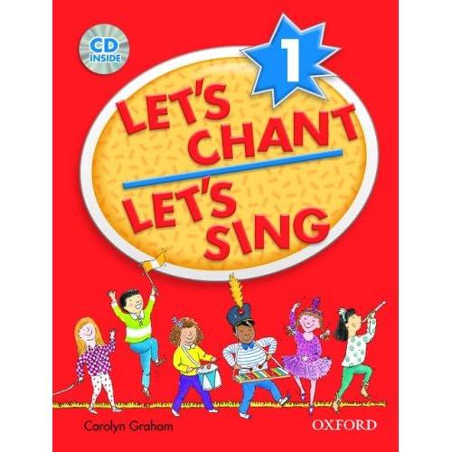 Amazon.com: Let's Chant, Let's Sing Book 1 w/ Audio CD (Let's Go