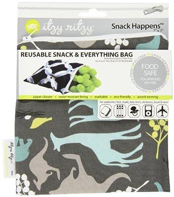 Itzy Ritzy Snack Happened Reusable Snack Bag