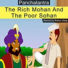 The Rich Mohan and the Poor Sohan Audiobook by Rahul Garg Narrated by David Van Der Molen