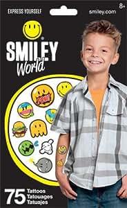 Amazon.com: Standard Tatto Bag - Smileyworld - Temporary Kids Games