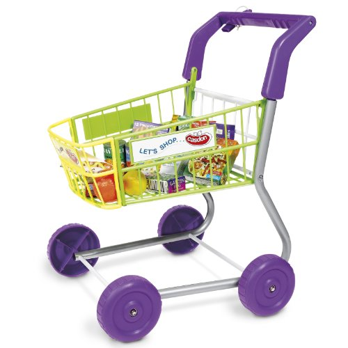51Y4dEOUxFL Toy Grocery Shopping Cart Trolley  Includes Play Meals