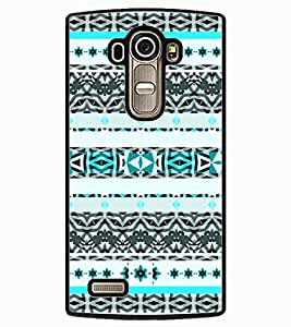 ColourCraft Tribal Pattern Design Back Case Cover for LG G4