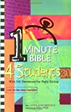 img - for One Minute Bible for Students: With 366 Devotions for Daily Living book / textbook / text book