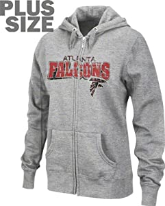 Atlanta Falcons Classic III Zip Hoodie Women's Plus Size from VF Imagewear