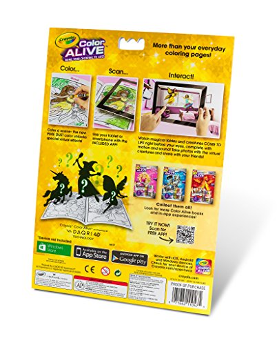 crayola color alive action coloring pages enchanted forest toys games toys art drawing toys