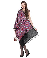 ABN's SHAWLS For Women (1776, Black)