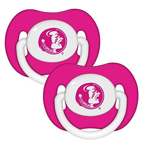Baby Fanatic Pink Pacifier, Florida State University