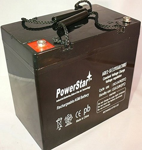 Universal 12V 55Ah Group 22Nf For Scooters And Electric Wheelchairs