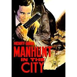 The Manhunt (L'uomo della strada fa giustizia) [VHS Retro Style] 1975