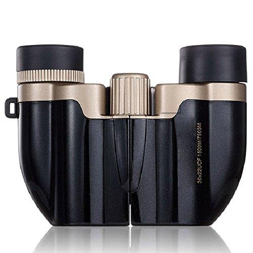 Beileshi 7B-1 30X Lll Night Vision Mini Binoculars Telescope(Black&Golden)