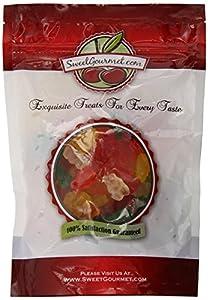 Albanese Assorted Gummi Bears Sugar Free, 1 LB