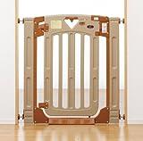 日本育児 nihonikuji ベビーゲート スマートゲイトII プラス Smart Gate 2 plus  取り付け幅67~91cm(階段上69~93cm)×奥行3×高さ91cm 6kg 5014046001 6ヶ月~24ヶ月対象 階段上で使える両開き・片開き選択式のベビーゲート